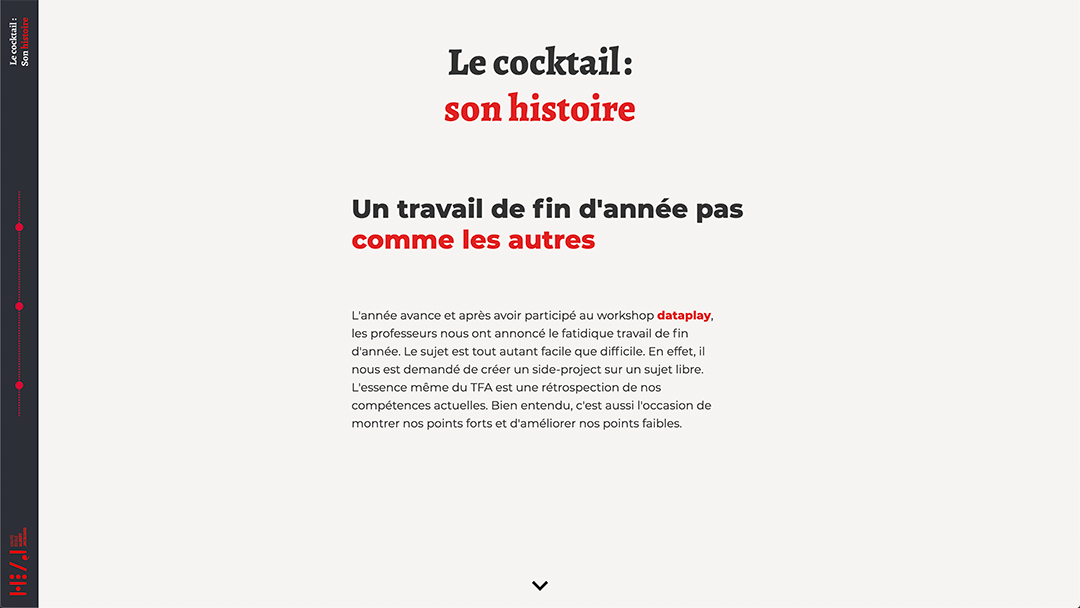 case study page end year work cocktail heaj